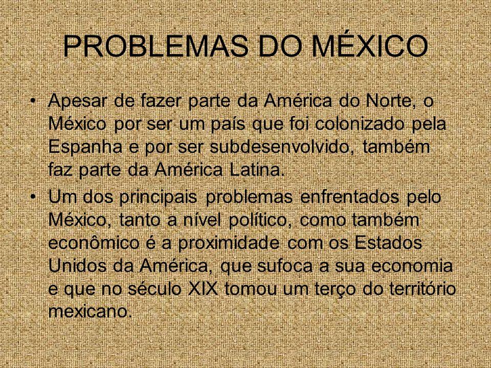 PROBLEMAS DO MÉXICO