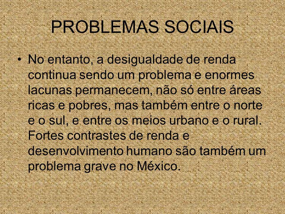 PROBLEMAS SOCIAIS