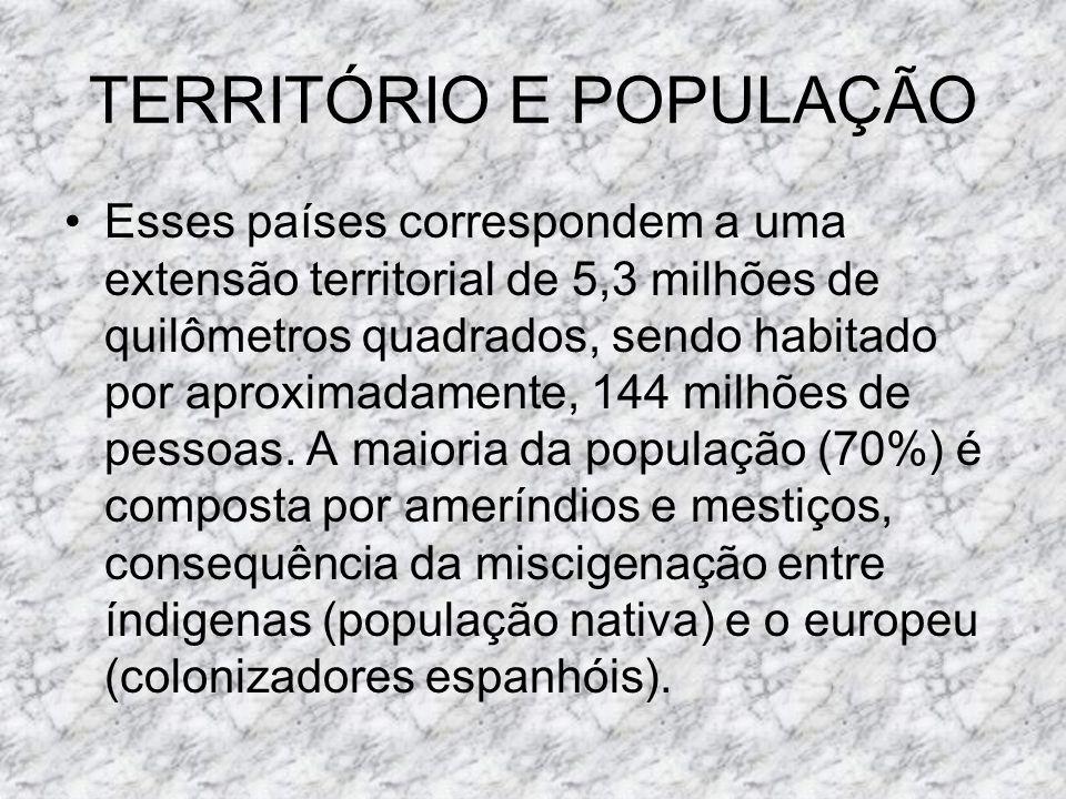 TERRITÓRIO E POPULAÇÃO