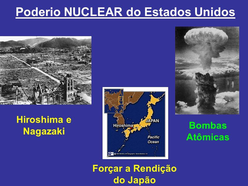 Poderio NUCLEAR do Estados Unidos Forçar a Rendição do Japão