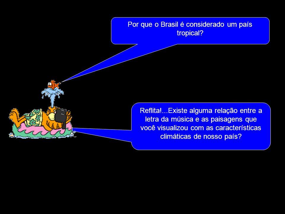 Por que o Brasil é considerado um país tropical