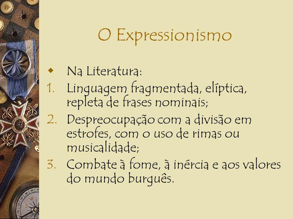 O Expressionismo Na Literatura: