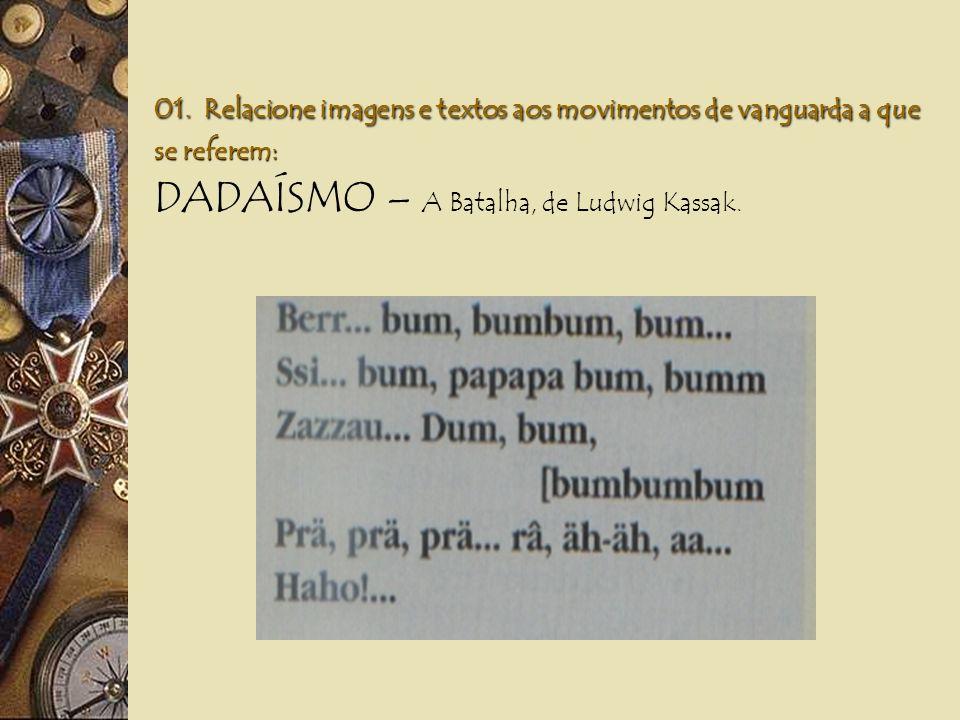DADAÍSMO – A Batalha, de Ludwig Kassak.