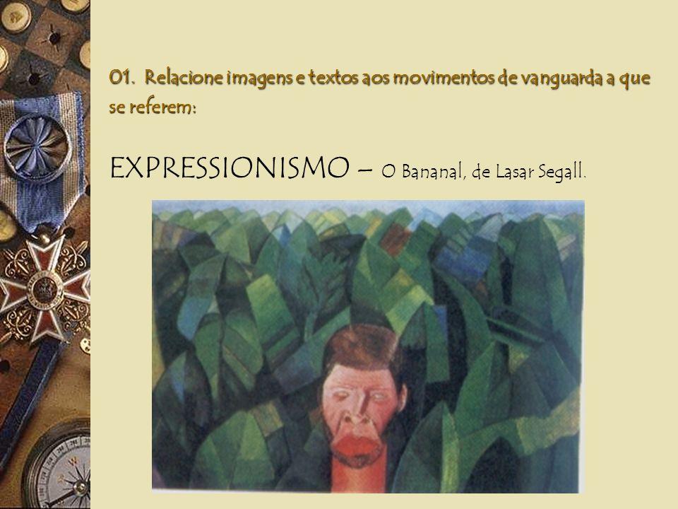 EXPRESSIONISMO – O Bananal, de Lasar Segall.