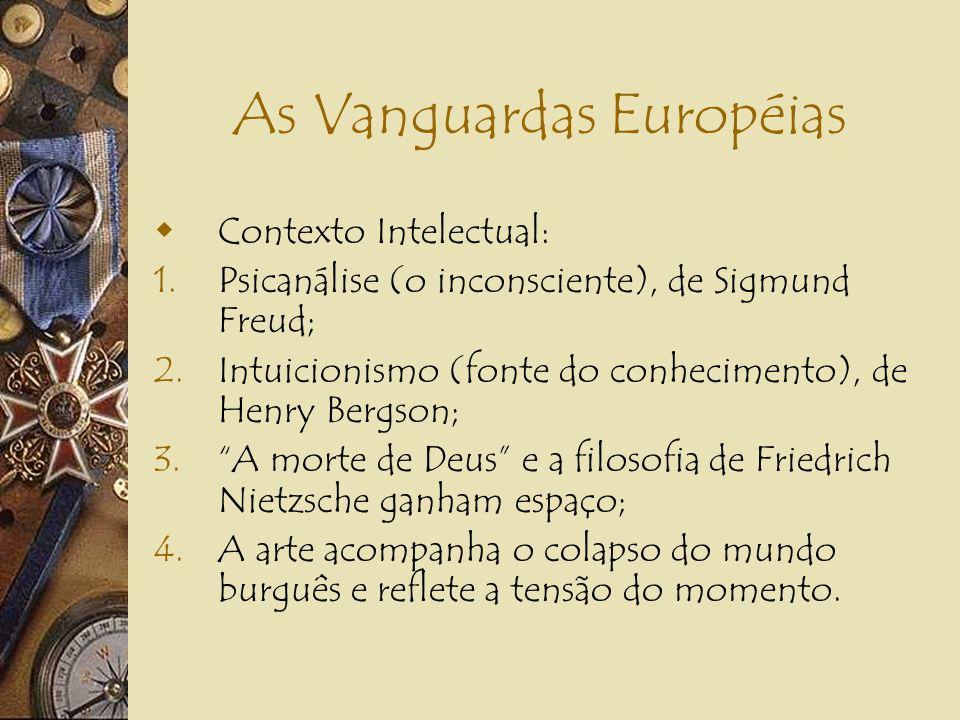 As Vanguardas Européias