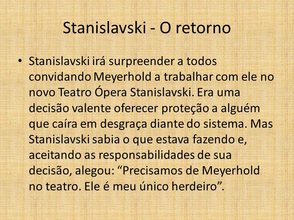 Stanislavski - O retorno
