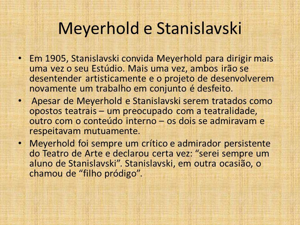 Meyerhold e Stanislavski