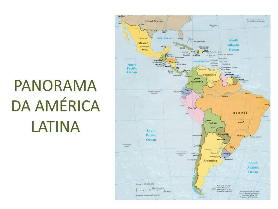 PANORAMA DA AMÉRICA LATINA