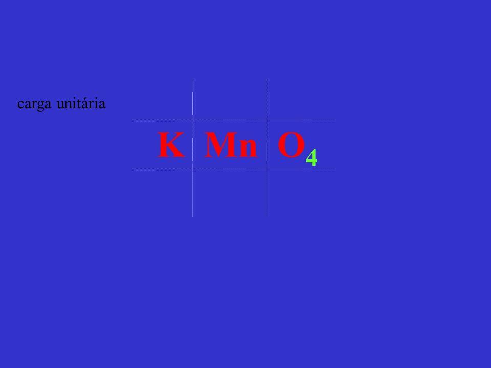 carga unitária K Mn O4