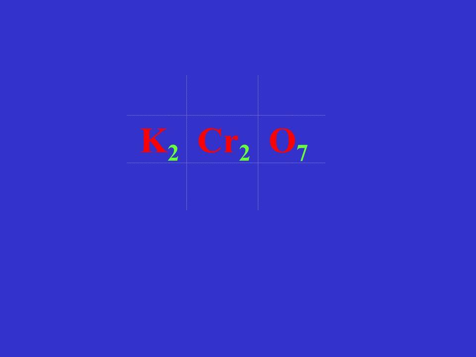 K2 Cr2 O7