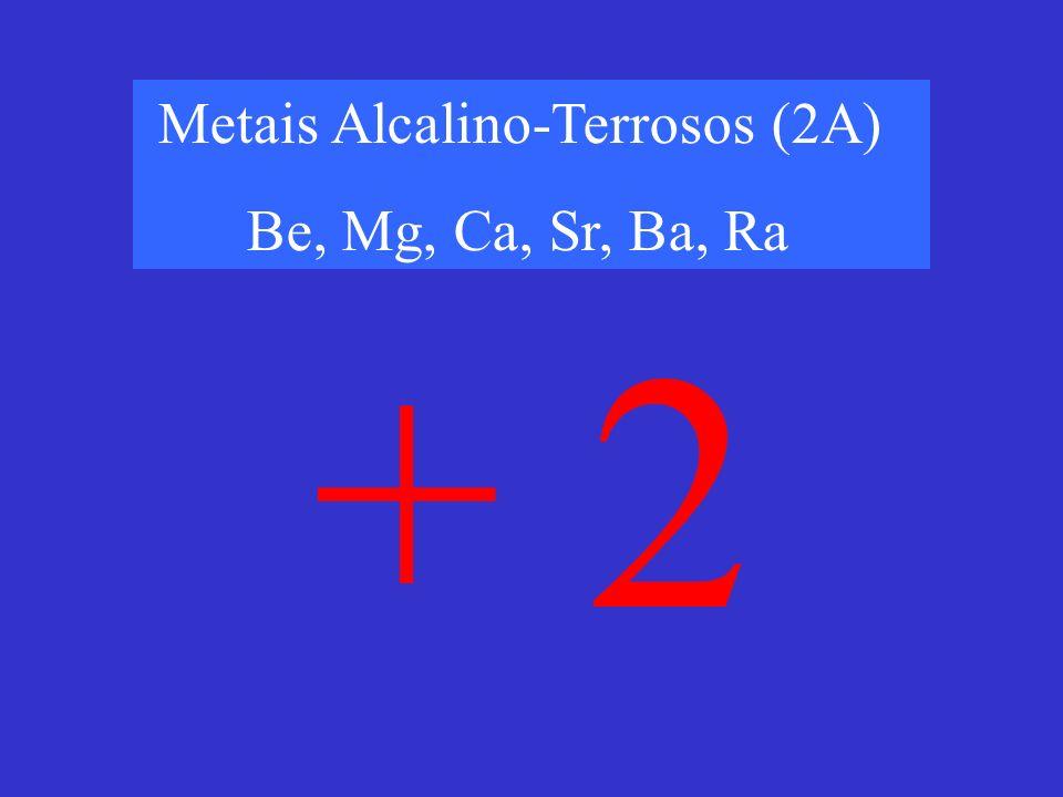 Metais Alcalino-Terrosos (2A)