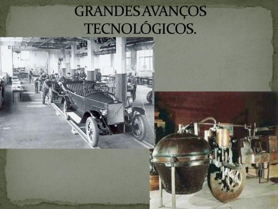 GRANDES AVANÇOS TECNOLÓGICOS.