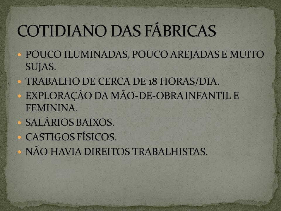 COTIDIANO DAS FÁBRICAS