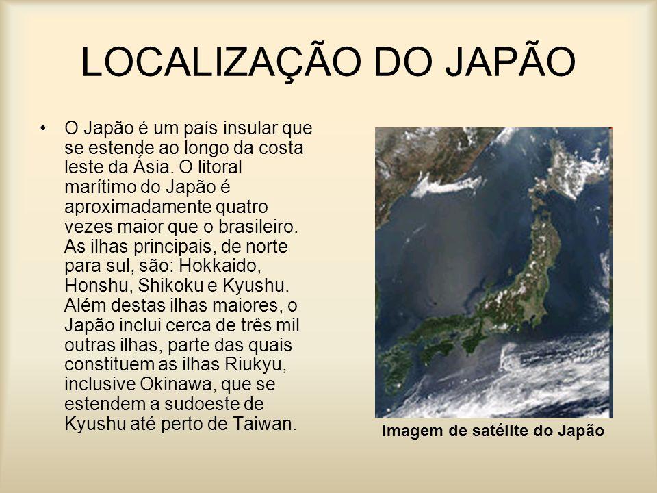 LOCALIZAÇÃO DO JAPÃO