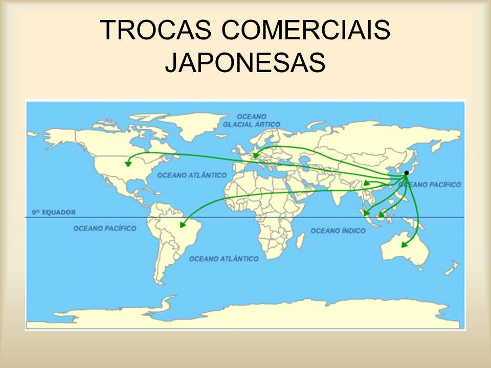 TROCAS COMERCIAIS JAPONESAS
