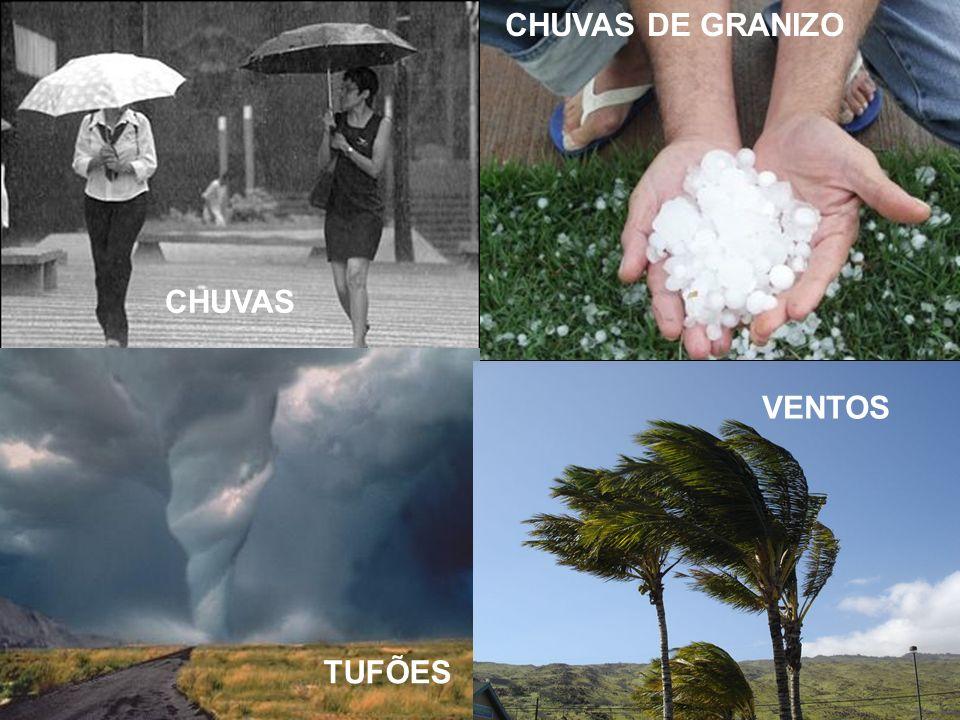 CHUVAS DE GRANIZO CHUVAS VENTOS TUFÕES