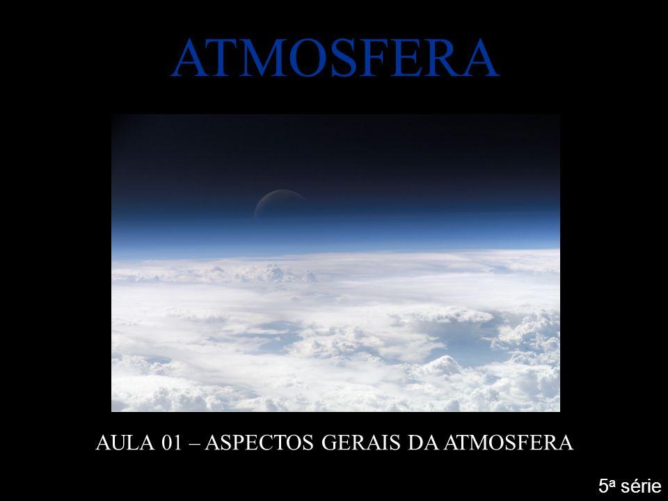 AULA 01 – ASPECTOS GERAIS DA ATMOSFERA