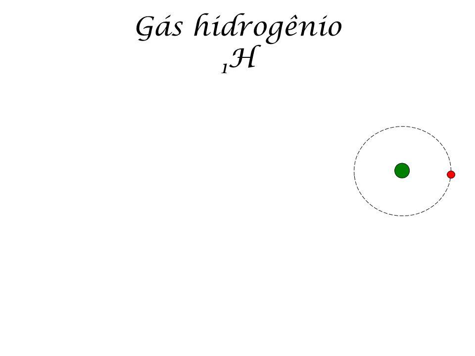 Gás hidrogênio 1H