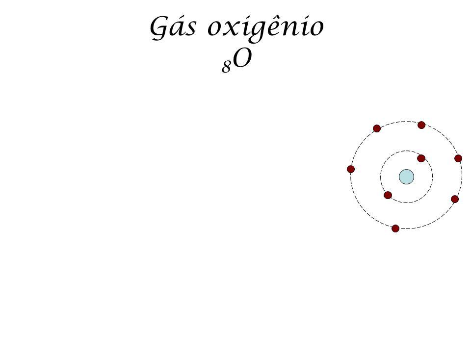 Gás oxigênio 8O