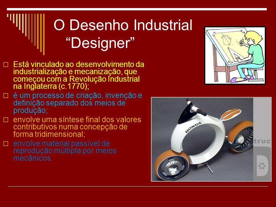 O Desenho Industrial Designer
