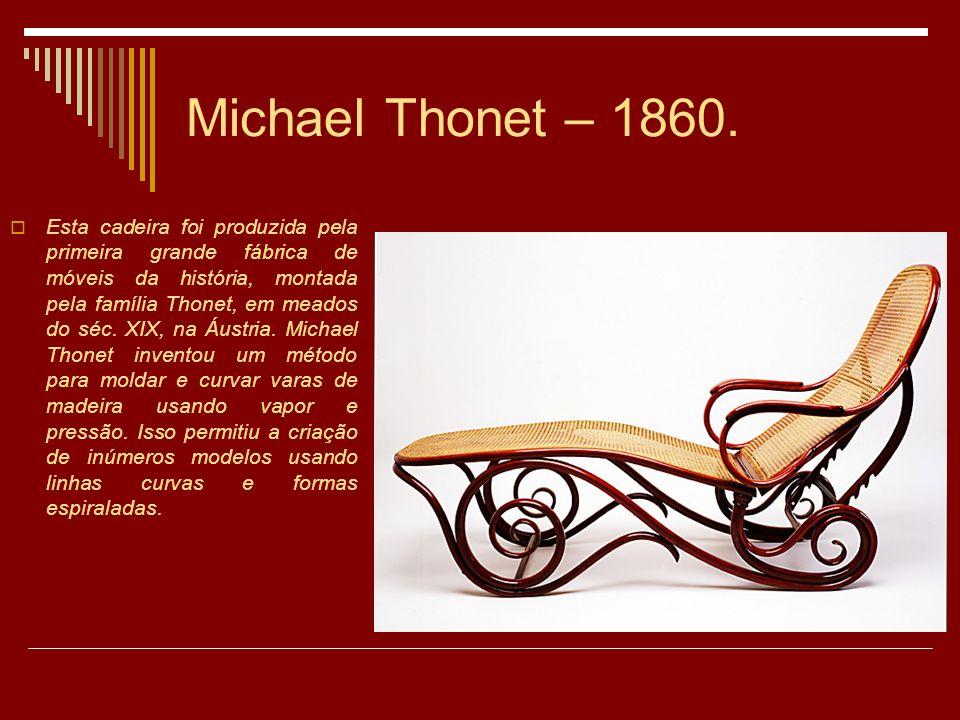 Michael Thonet – 1860.