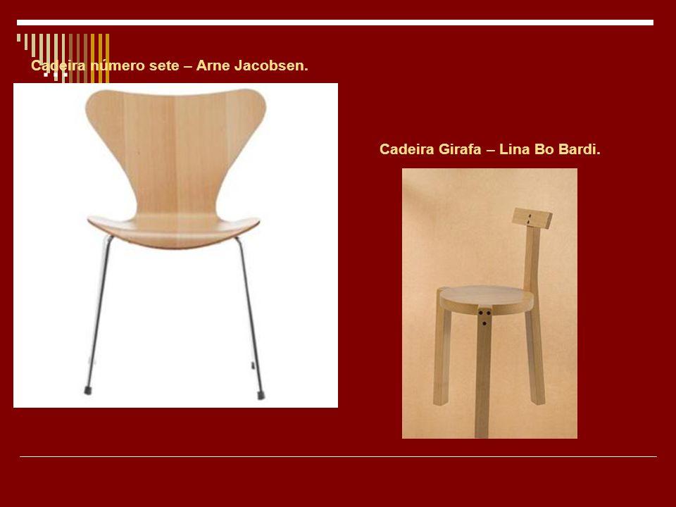 ... Cadeira número sete – Arne Jacobsen.