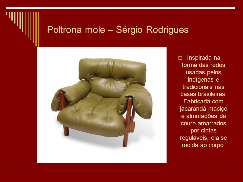 Poltrona mole – Sérgio Rodrigues