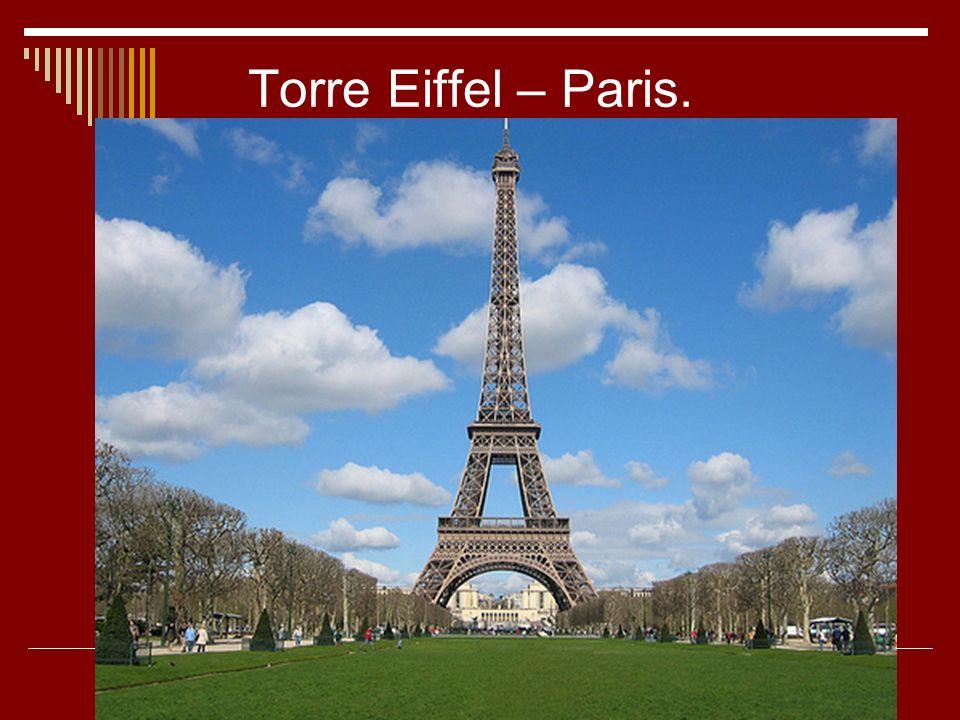 Torre Eiffel – Paris.