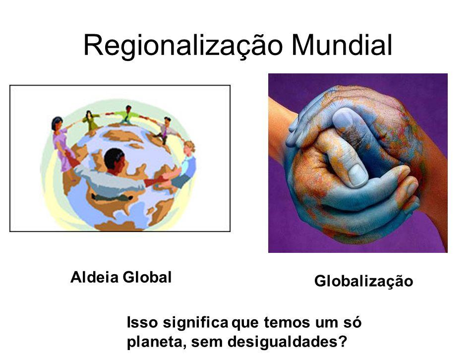 Regionalização Mundial