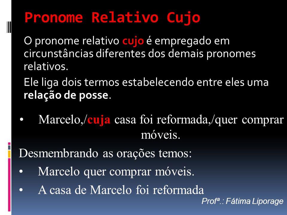 Marcelo,/cuja casa foi reformada,/quer comprar móveis.