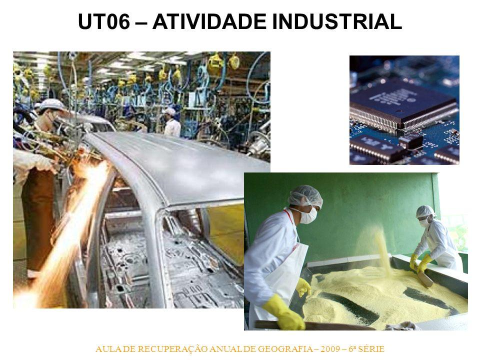 UT06 – ATIVIDADE INDUSTRIAL