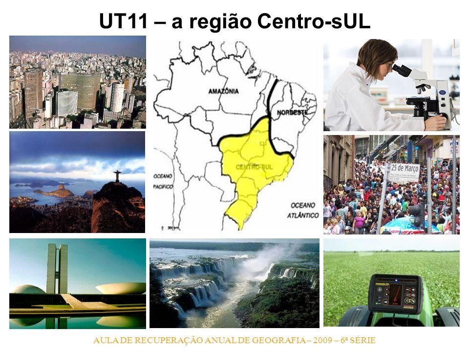 UT11 – a região Centro-sUL