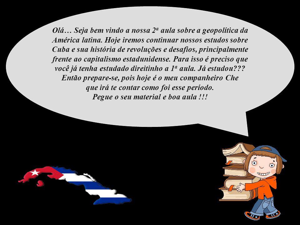 Olá… Seja bem vindo a nossa 2a aula sobre a geopolítica da América latina.