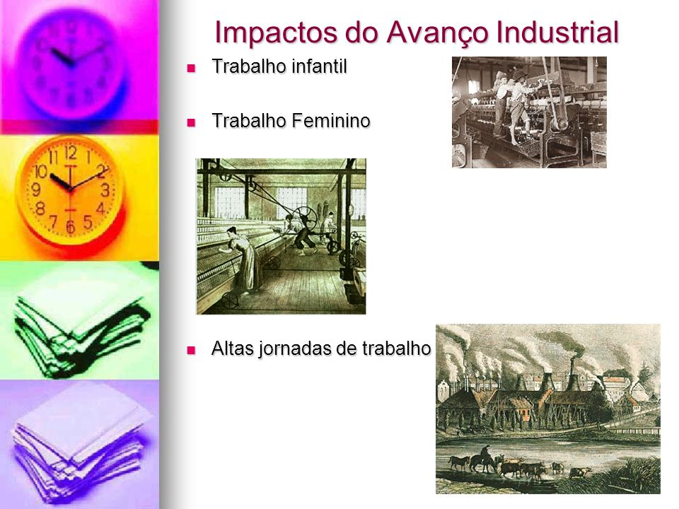 Impactos do Avanço Industrial