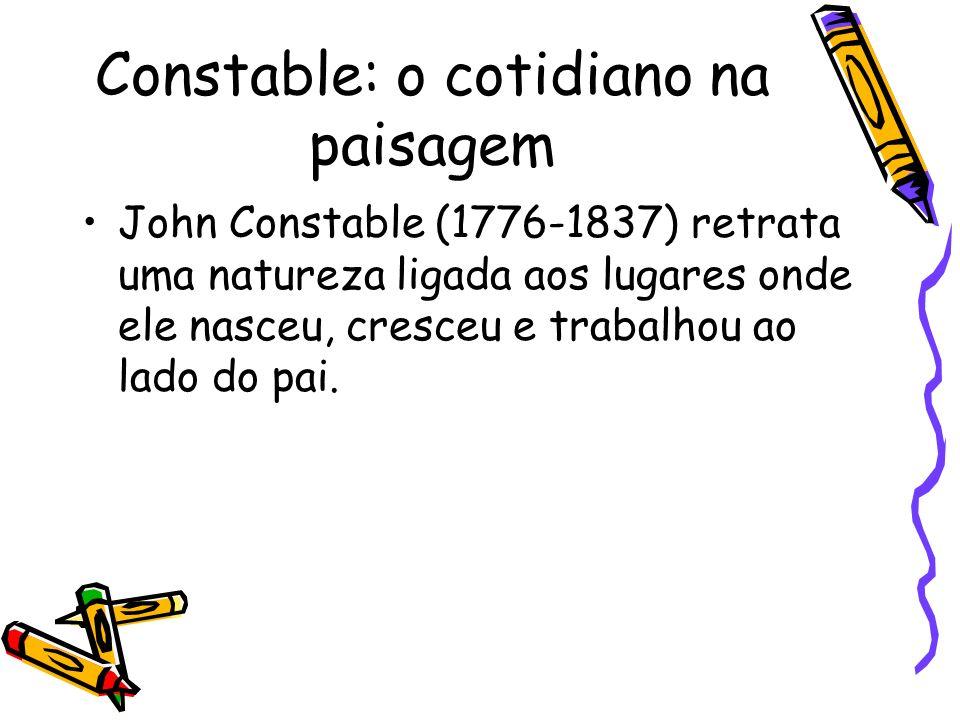 Constable: o cotidiano na paisagem