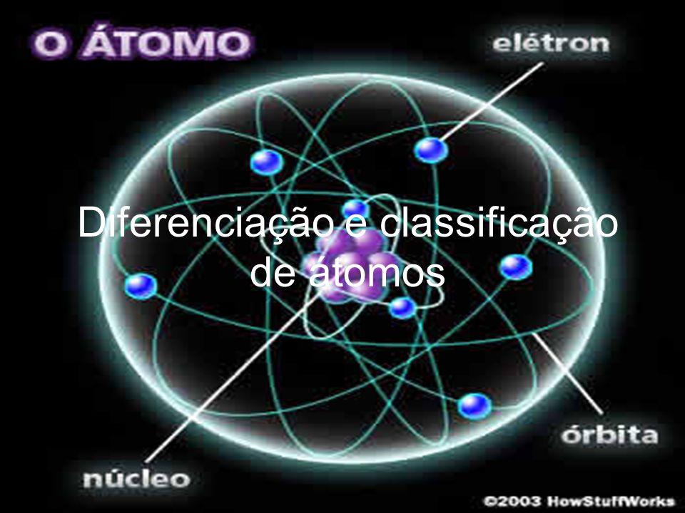 Diferenciação e classificação de átomos