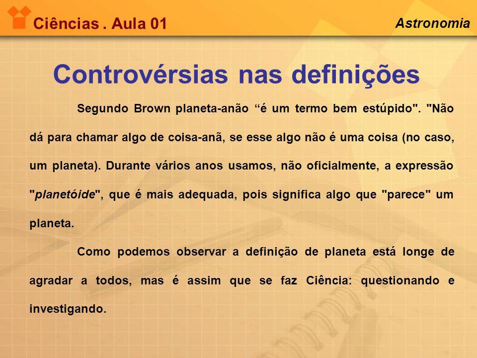 Controvérsias nas definições
