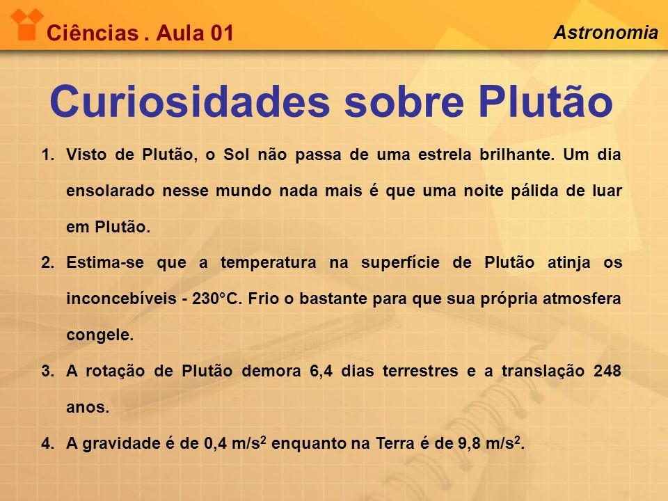 Curiosidades sobre Plutão