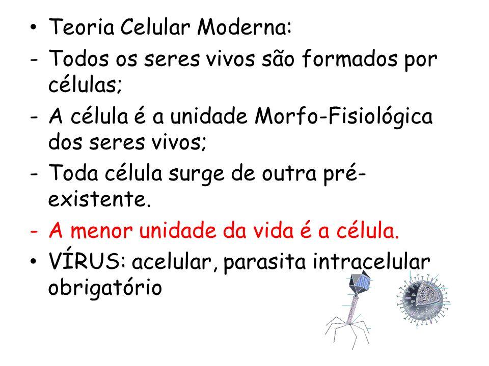 Teoria Celular Moderna: