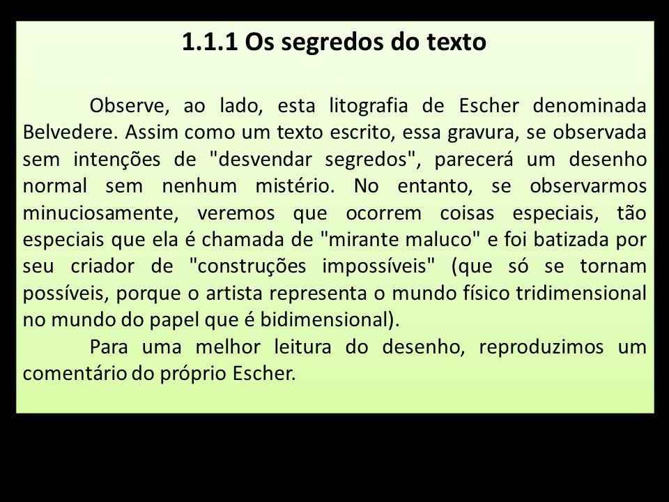 1.1.1 Os segredos do texto