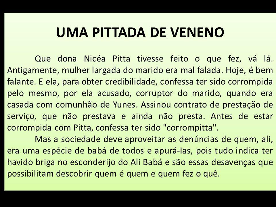 UMA PITTADA DE VENENO