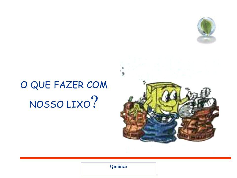 O QUE FAZER COM NOSSO LIXO