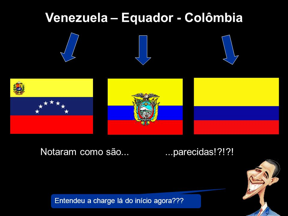 Venezuela – Equador - Colômbia