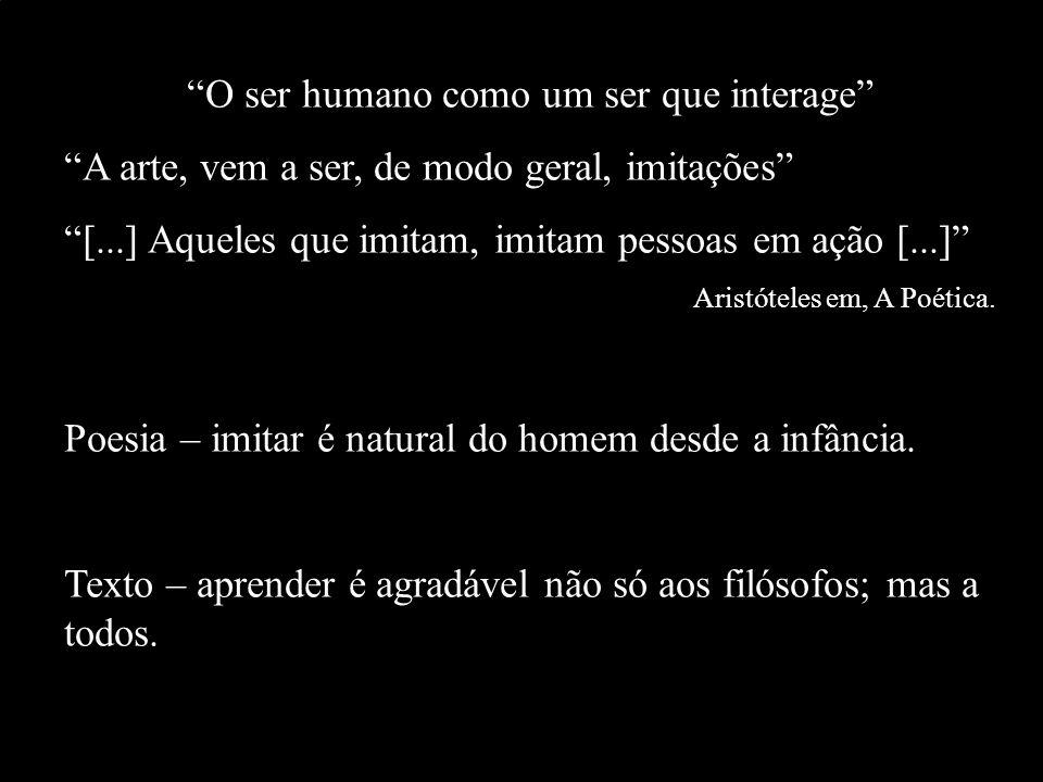 O ser humano como um ser que interage