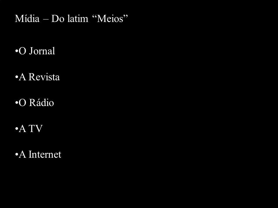 Mídia – Do latim Meios