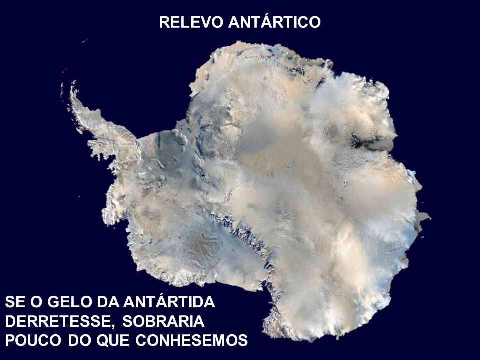 RELEVO ANTÁRTICO TITULO