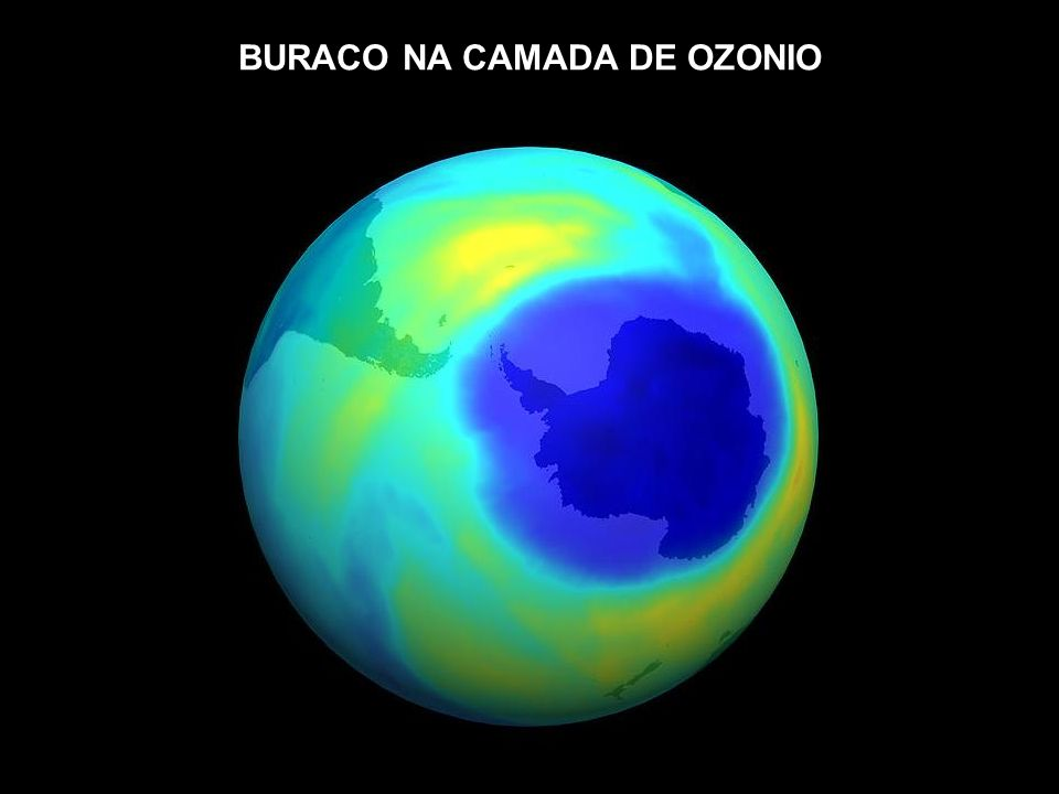BURACO NA CAMADA DE OZONIO