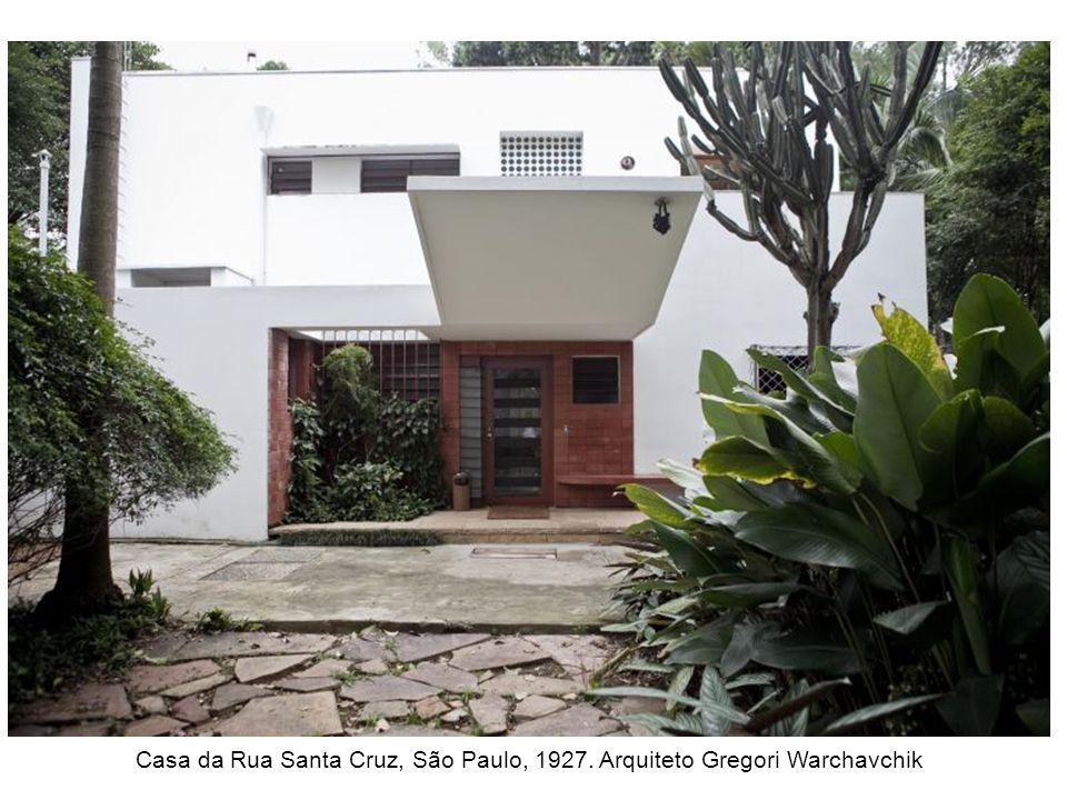 Forma o da arquitetura moderna no brasil ppt carregar - Casa santa cruz ...