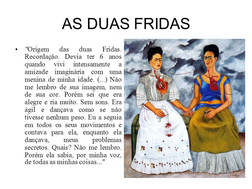 AS DUAS FRIDAS