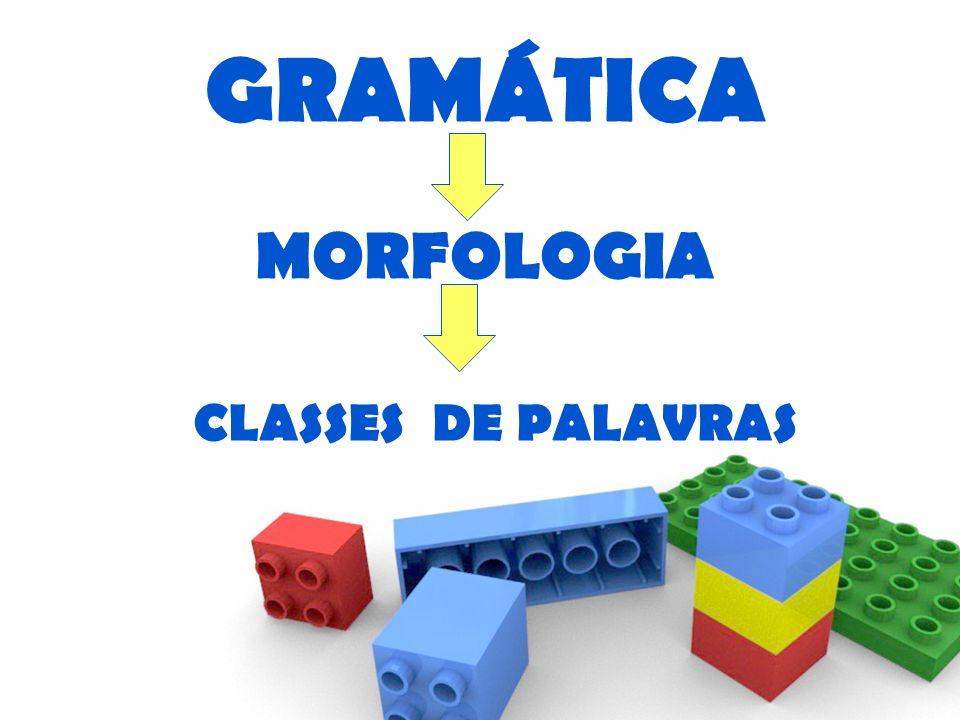 GRAMÁTICA MORFOLOGIA CLASSES DE PALAVRAS